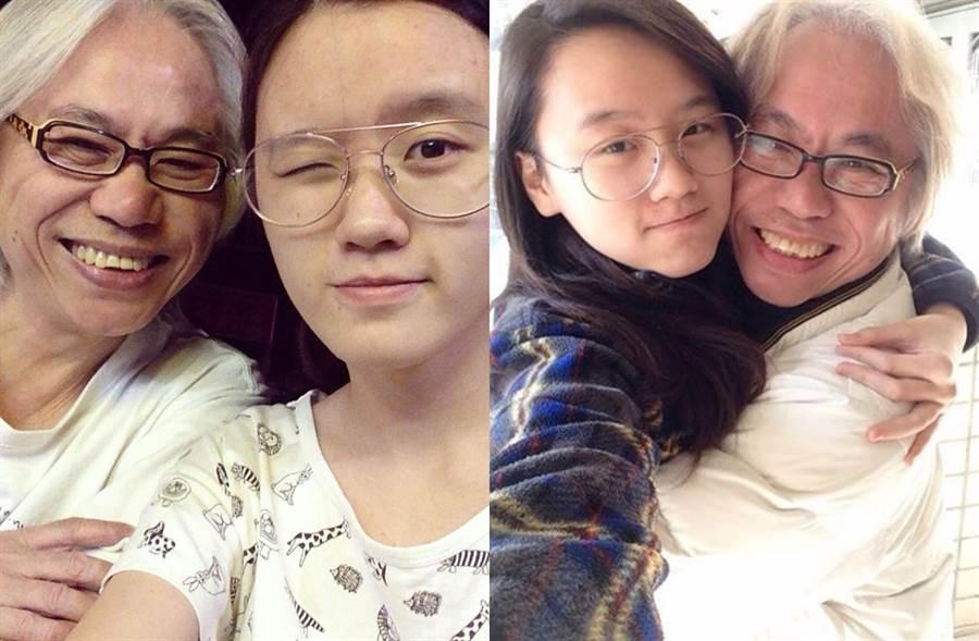 李坤城和林靖恩過去常分享閃照。(圖/翻攝自臉書)
