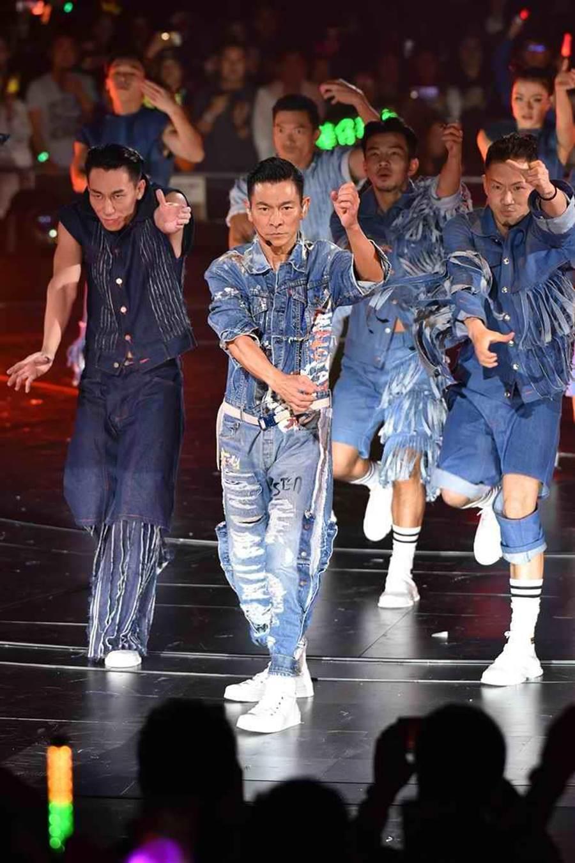 劉德華將於明年5月底6月初在台北小巨蛋開唱。(資料照)
