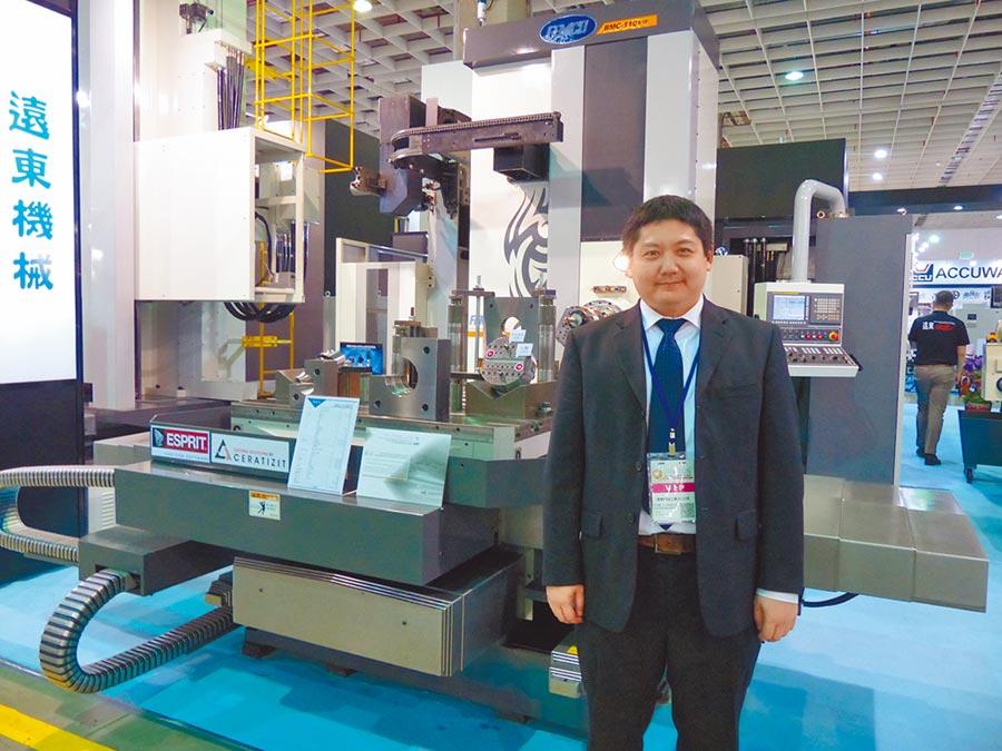遠東機械總經理暨發得科技董事長莊宇龍。圖/莊富安