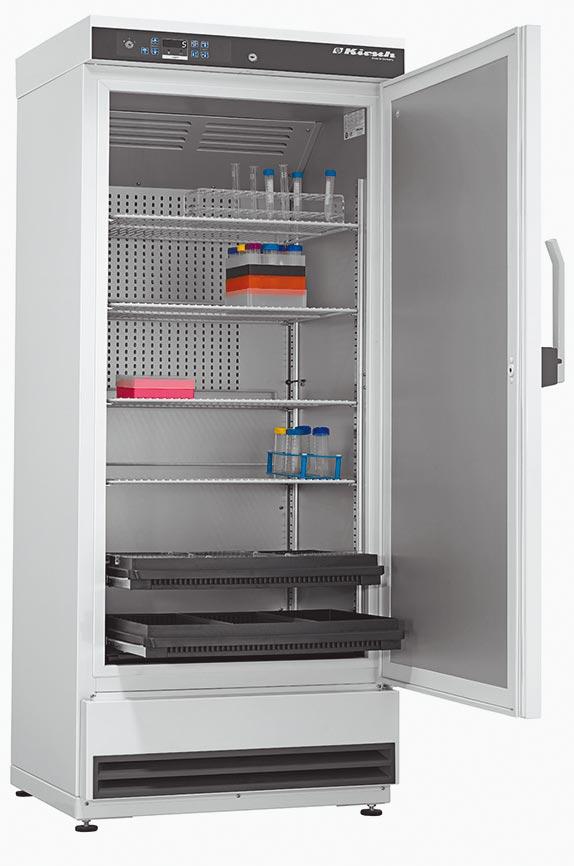 大昌華嘉引進德國Philipp Kirsch全方位冷卻解決方案來台;圖為對方專為醫療行業生產的冰箱。圖/業者提供