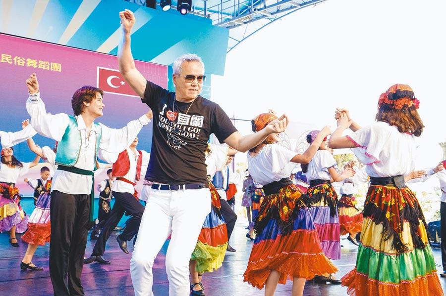 林瑞陽7月底組千人團到家鄉宜蘭,他也獲邀擔任觀光大使。(資料照片)