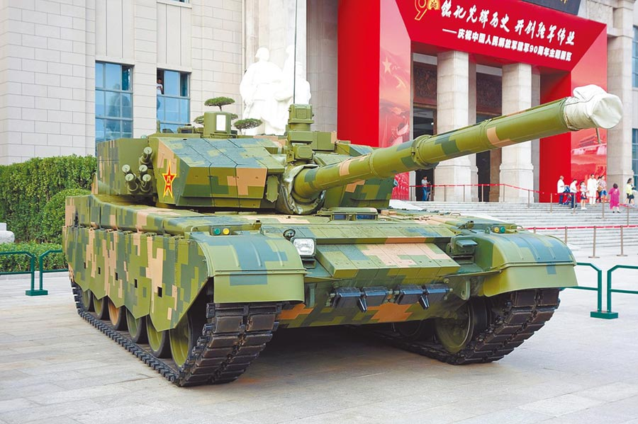 99A式坦克。(取自Tyg728-自己的作品)