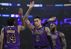 NBA》庫茲馬放話 將成湖人第三巨頭