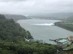 颱風未走遠 石門水庫警戒防洪中