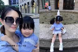 劉真、辛龍3歲愛女曝光 長相甜翻天