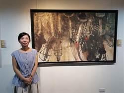 無聲勝有聲 旅日畫家陳芃宇用潑墨與留白贏得掌聲