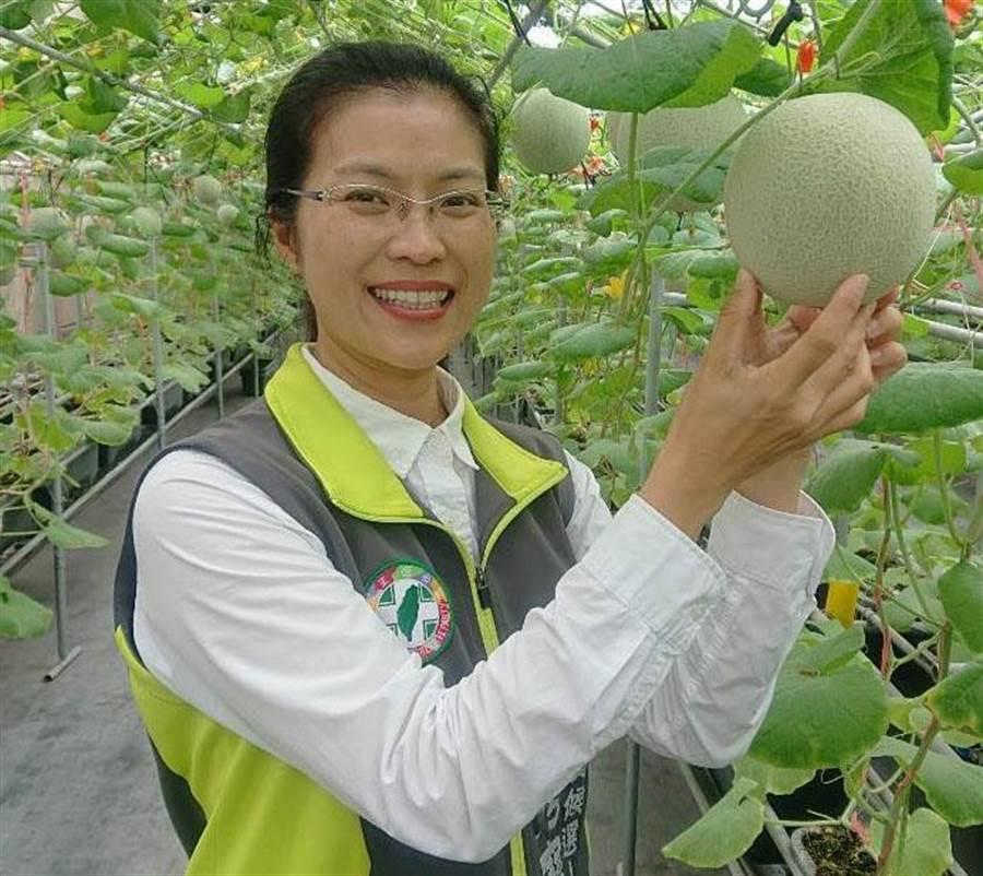3屆議員陳秀寶得到民進黨提名,黨內整合成功,挑戰立委寶座。(吳敏菁翻攝)