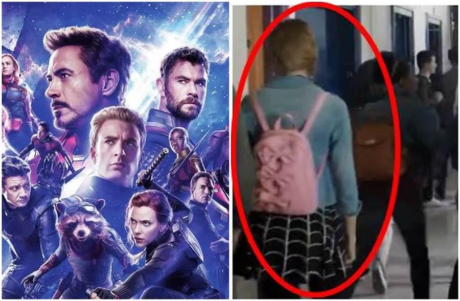 《復仇者聯盟4》結尾疑似出現蜘蛛人女友「關史黛西」背影。(圖/達志影像、網路)