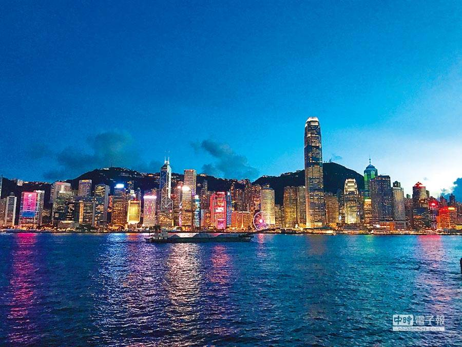 香港維多利亞港。(新華社資料照片)