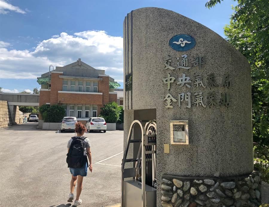 外島金門今(9)日下午出現39.9度的高溫,寫下金門氣象站自2004年設站以來測得的最高溫紀錄。(李金生攝)