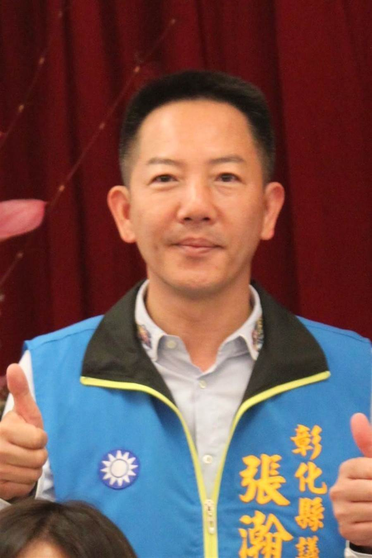 國民黨提名張瀚天挑戰立委,實力雄厚。(吳敏菁攝)