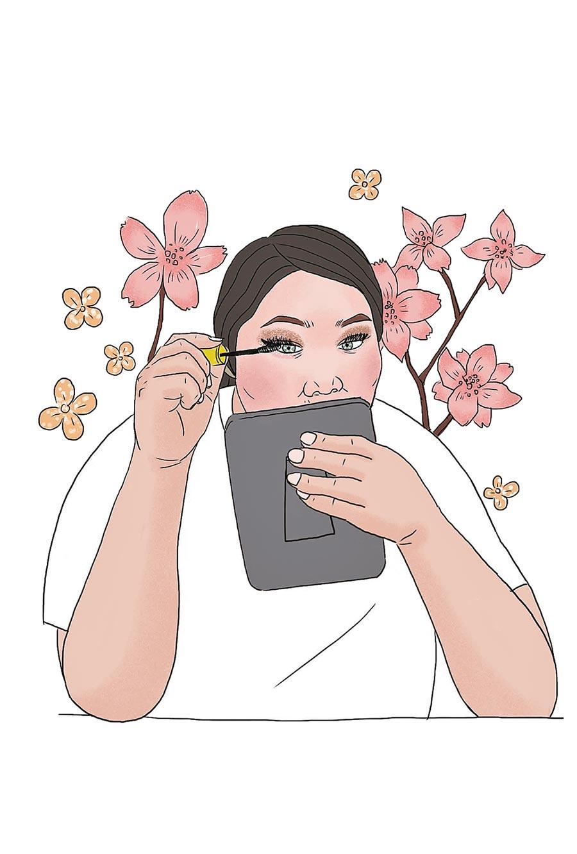 《我不漂亮》書中插圖。(大田出版社提供)