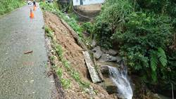 利奇馬「颱風尾」掃過 台中山區傳落石溪水暴漲