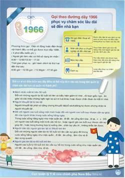 長照服務普遍化 縣府首創印尼文越南文宣導單