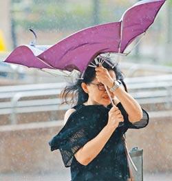 風雨不如預期 北偏50公里成關鍵