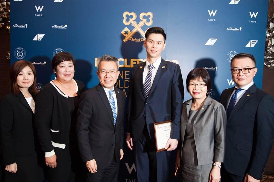 李懿軒於2016年獲得金鑰匙認證資格。(照片/李懿軒 提供)