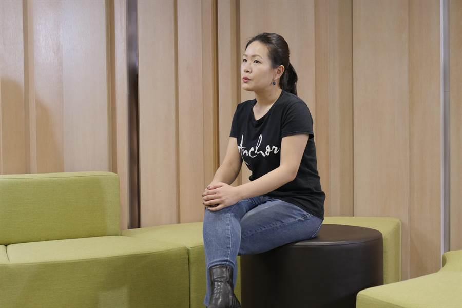 Anchor Taiwan創辦人邱懷萱。(陳俊雄翻攝)