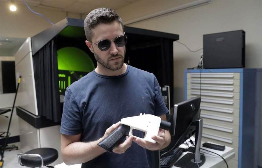 美3D列印手槍發明人威爾森認罪。(美聯社)