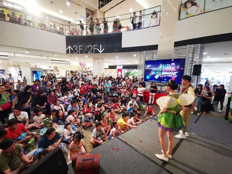 《桌遊新樂園》今在Global Mall中和環球購物中心舉辦節目發布會。(圖/龍華電視提供)