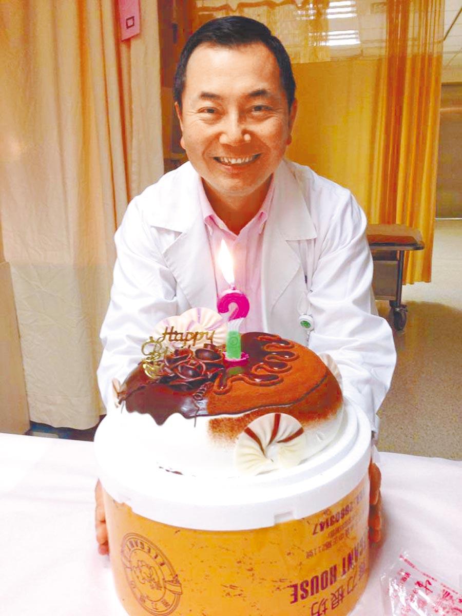 新光醫院健康管理部主任朱光恩。(朱光恩提供)