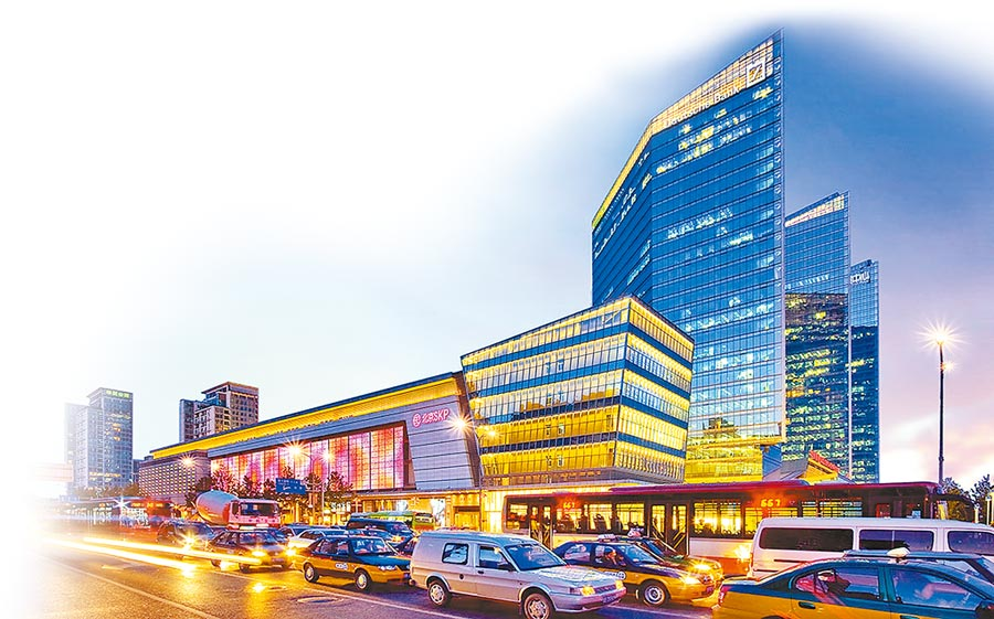 北京SKP。(取自華貿官網)