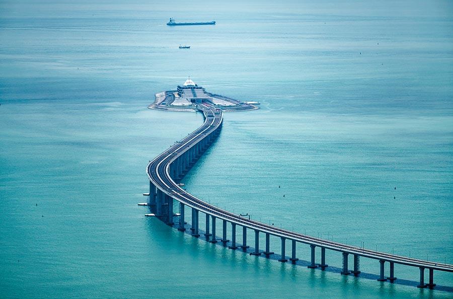 港珠澳大橋。(中新社資料照片)