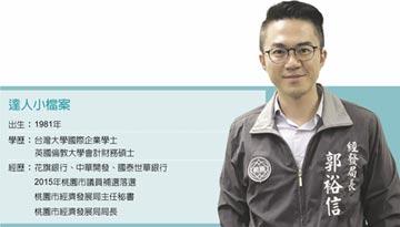 職場達人-桃園市經發局局長 七年級政務官郭裕信 扮產業轉型推手
