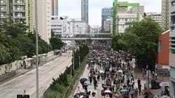 香港深水埗遊行 警:「未經批准集結」籲在場人士離開