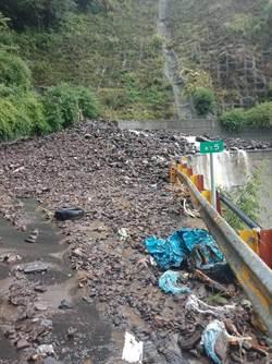 利奇馬颱風過後 中橫便道封路3天