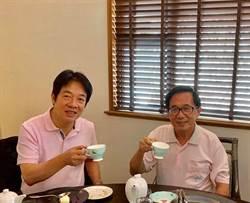 久未露面 賴清德與陳水扁碰面喝茶
