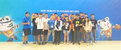 中科代表隊出征2019 FIRA 智慧機器人運動大賽