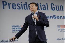 台裔民主黨總統候選人楊安澤 獲特斯拉創辦人馬克斯支持
