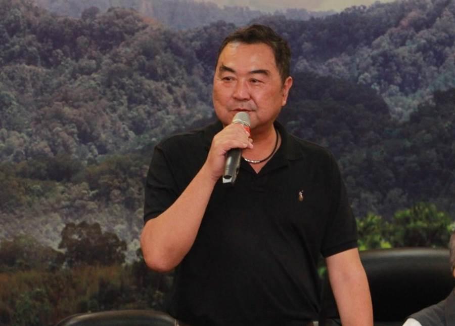 現任立委徐志榮獲國民黨提名競選連任。(何冠嫻攝)