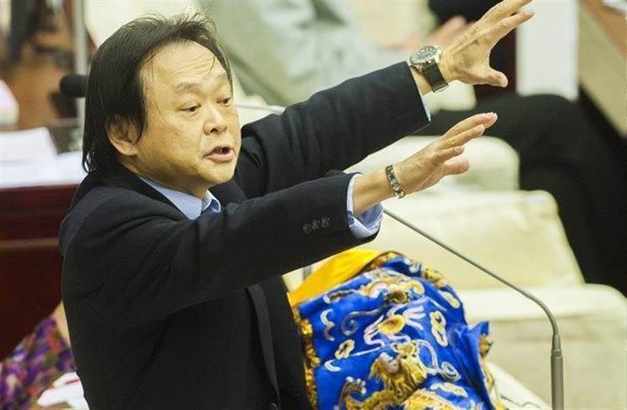 民進黨台北市議員王世堅。(中時資料照)