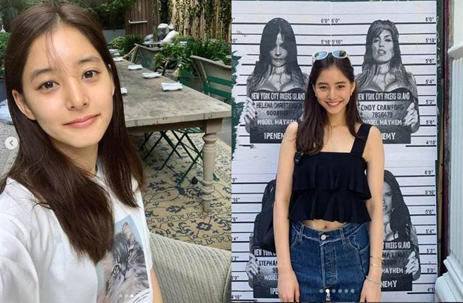 日本女星新木優子因甜美笑容擄獲不少網友的心。(圖/翻攝自IG)