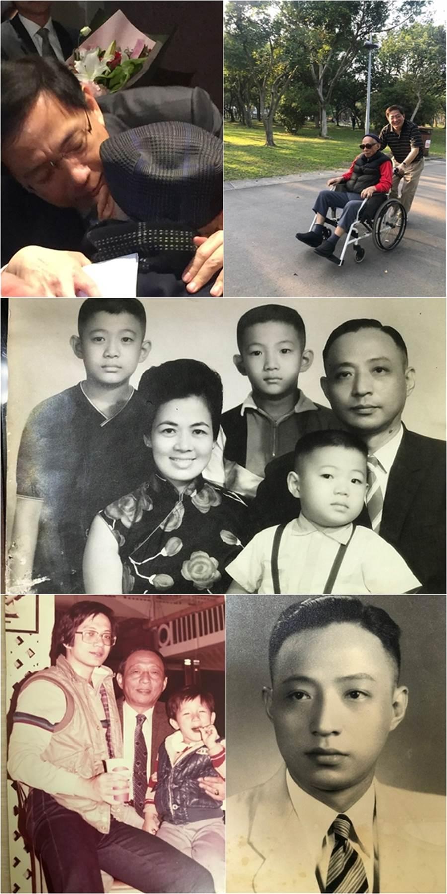 管中閔今天在臉書感念父親:「此生親情猶未盡,來世再續父子緣,爸爸再見。」。(圖/取自管中閔FB)