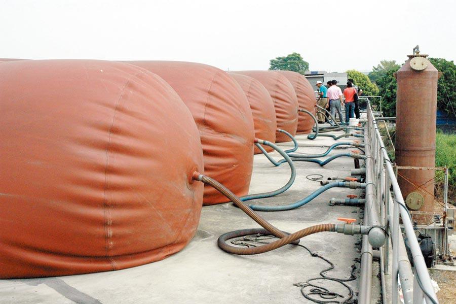 畜牧業沼氣發電,有效解決畜牧廢水。圖/本報資料照片