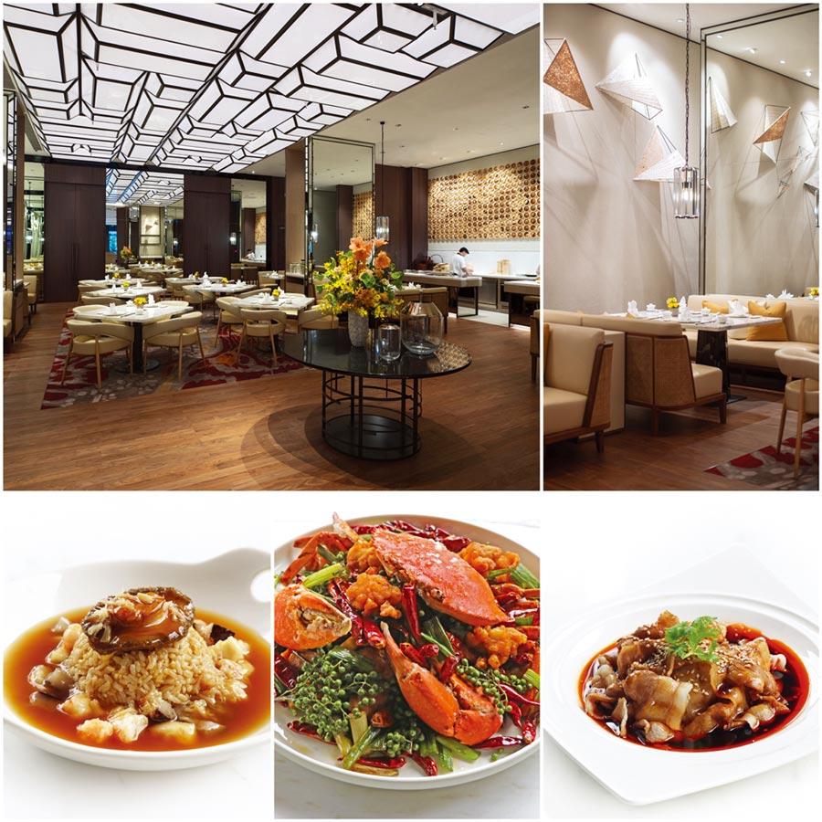 全新萬麗軒展新貌,囊括經典粵菜、大中華地區菜系及融合川、粵風味料理美饌。圖/士林萬麗酒店提供