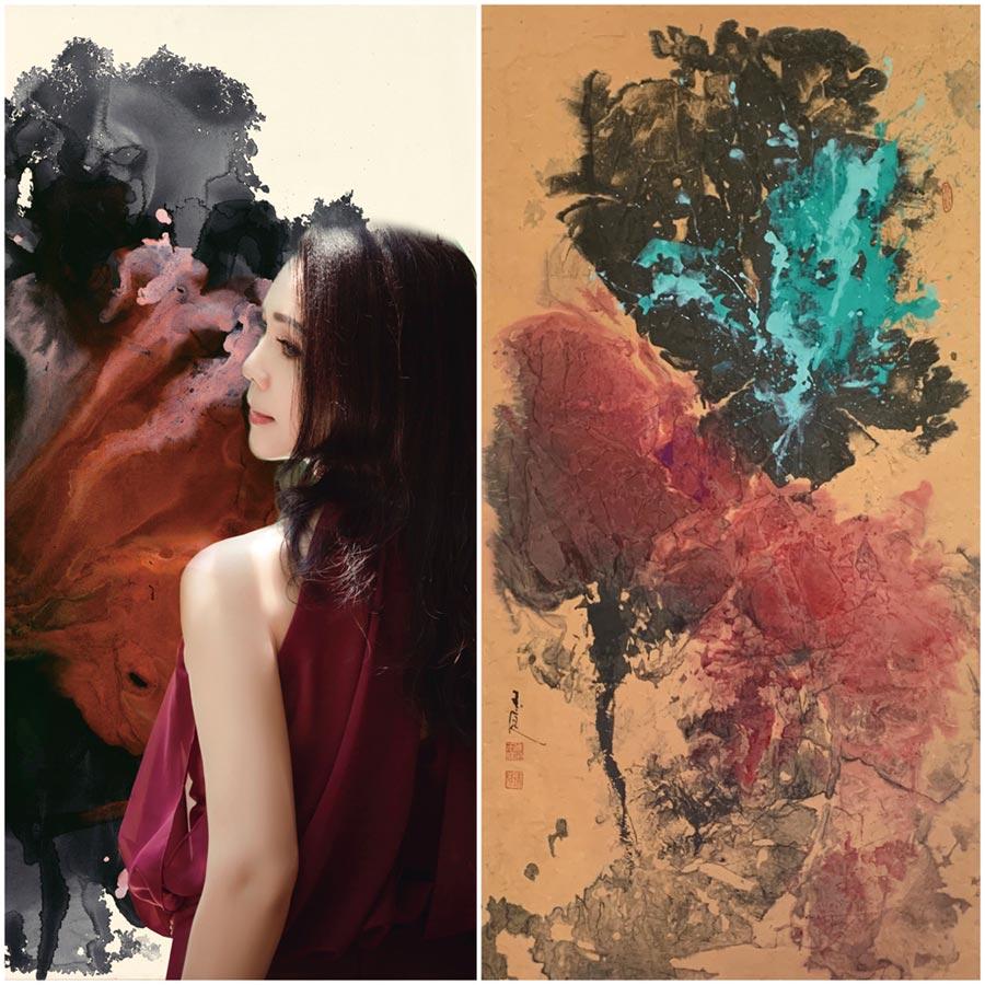 有台灣女兒之稱的藝術家陳玉庭,是旅星國多年的國際知名畫家,今年首次參加2019第22屆北京藝術博覽會。圖/陳玉庭提供
