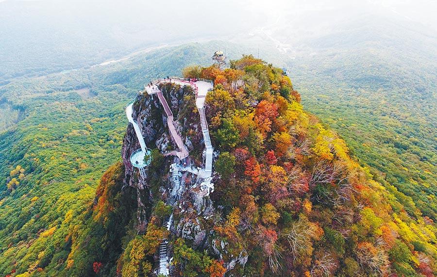 黑龍江地區森林廣袤,部署東風-41比華北地區更安全。圖為黑龍江省帽兒山國家森林公園。(新華社)