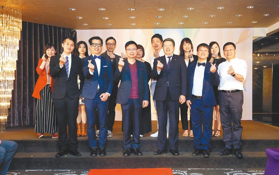 外貿協會近日舉辦台灣美妝國際記者會,助台灣美妝業者開拓國際版圖。(貿協提供)