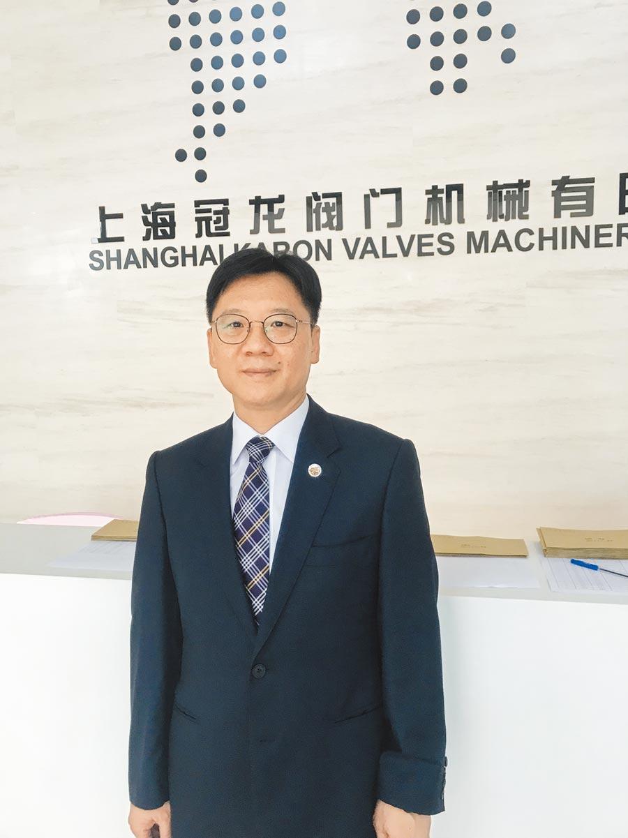 大陸全國台企聯總會長、上海冠龍閥門機械董事長李政宏。(本報系資料照片)