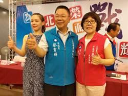 問政風格犀利 國民黨市議員蔡育輝轉戰立委