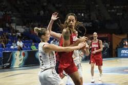 影》好兇喔!女籃球員揮拳一打五
