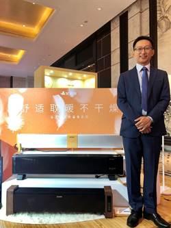 艾美特-KY今發表5款旗鑑級電暖氣 女星賈靜雯代言