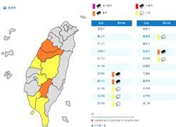 8縣市豪雨特報 吳德榮警告:不輸梅雨季!