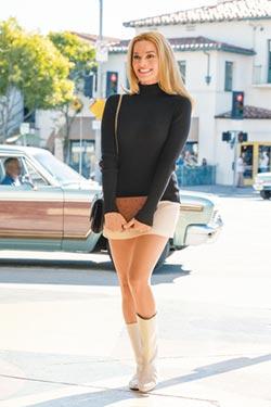 化身60年代女神莎朗蒂 瑪格羅比 香奈兒2.55不離身