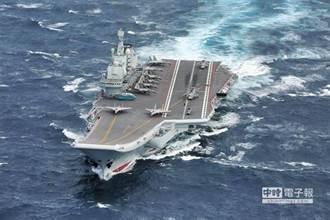 陸遼寧號今凌晨經台灣東部外海 國防部嚴密監控