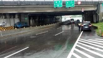 台中豪雨 已逐步排除多處低窪地區積水