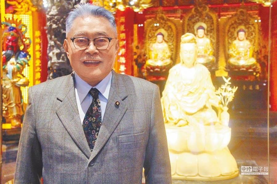 蘆洲湧蓮寺主委陳宏昌。(圖/資料照片)